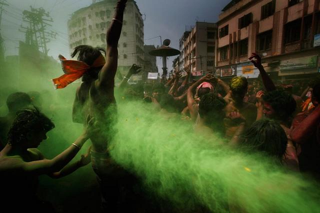 India Holi Festival of colors