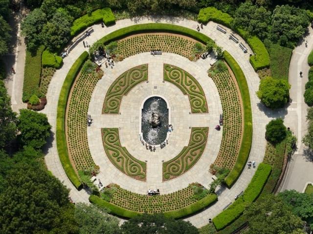 Сад Консерватории в Центральном парке, Нью-Йорк