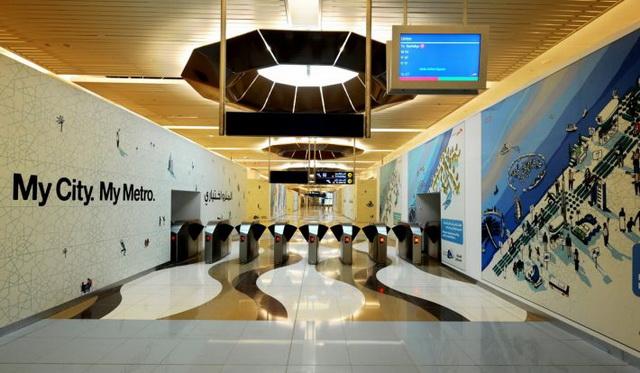 Дубаи метро