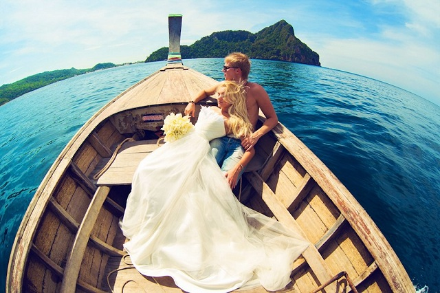 Свадебная фотосессия Пхи-Пхи