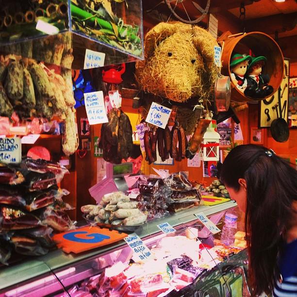 Рынок в Риме
