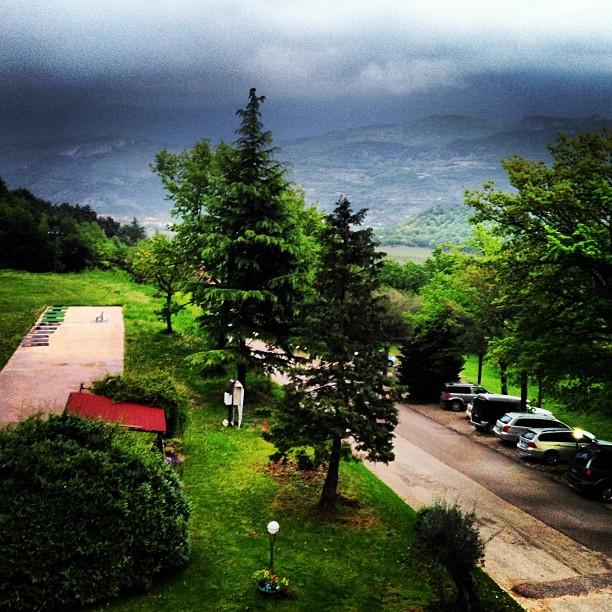 Италия горы